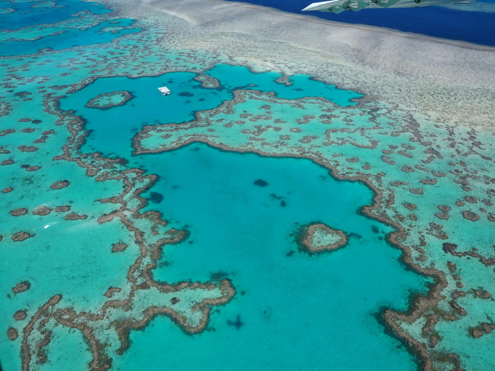 Photo barrière de corail Australie